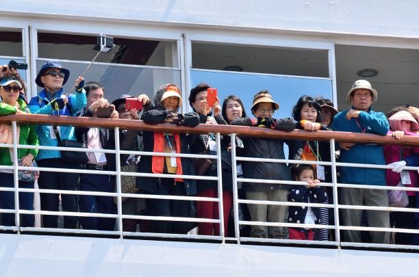 Vladivostok opened the cruise tourism season