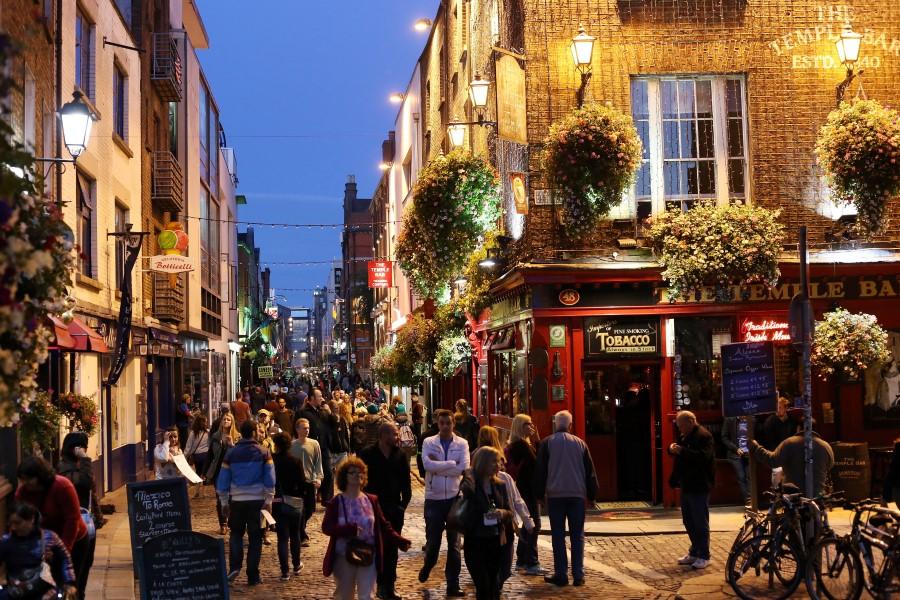 Dublín es una hermosa ciudad en el centro de Irlanda