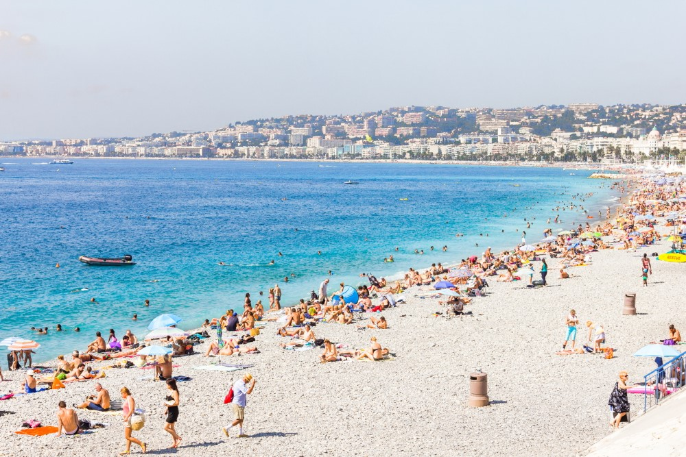 French Nice welcomed more tourists