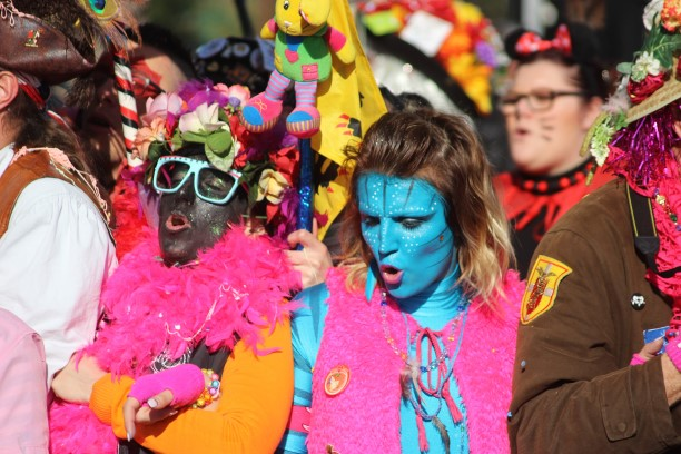 French Carnival in Nice Adjusted to the Chinese Culture