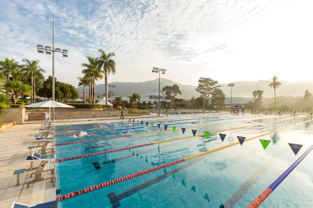 Thanyapura Resort Olympic pool