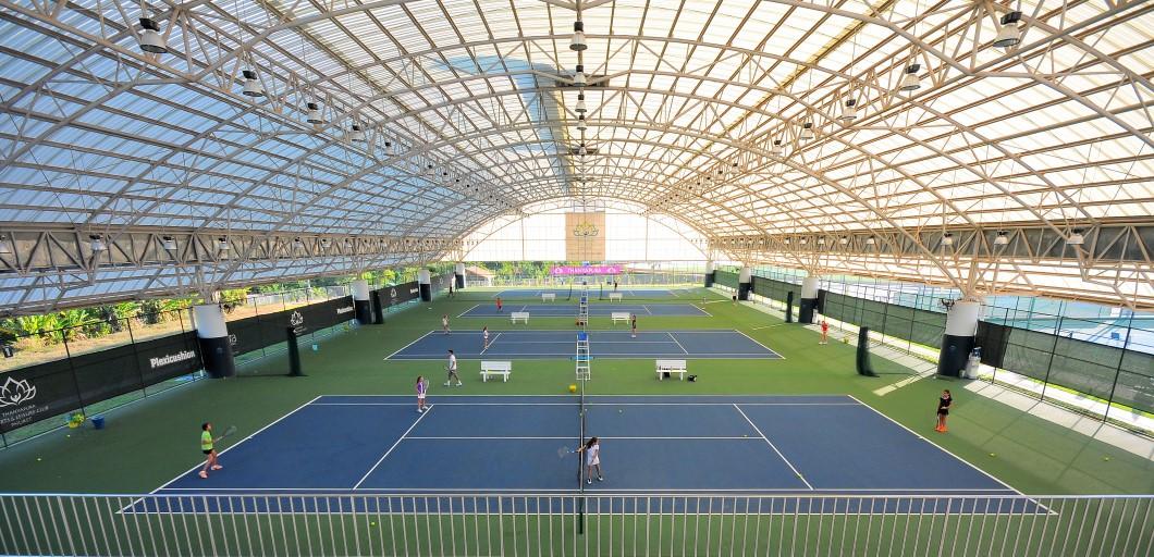 Thanyapura Resort - tennis