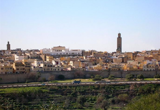 THE MOROCCAN CITY OF MEKNES