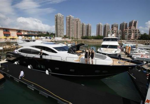 CHINA'S YACHT INDUSTRY IS BOOMING