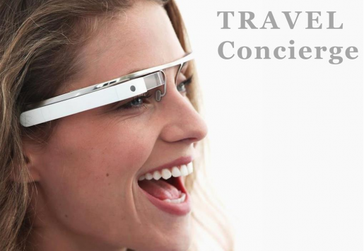 """THE """"GOOGLE GLASSES"""" WILL BECOME A VIRTUAL TRAVEL AGENT"""