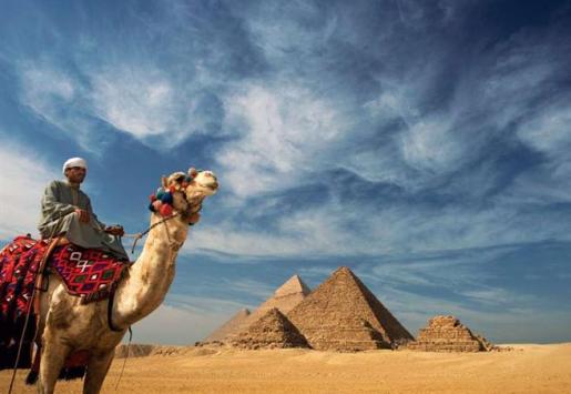 TOURISTS FINALLY COME BACK TO EGYPT