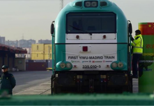 WORLD'S LONGEST JOURNEY – THE 1ST FREIGHT TRAIN BETW. CHINA AND SPAIN