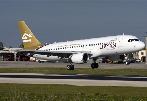 LIBYAN AIRLINES BANNED FROM EU AIRSPACE