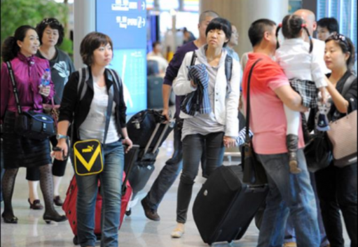 JAPAN WELCOMED 82% MORE CHINESE TOURISTS