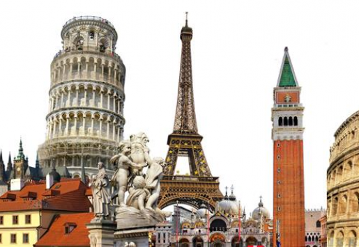 US AND RUSSIAN TRAVELERS PREFER EUROPE