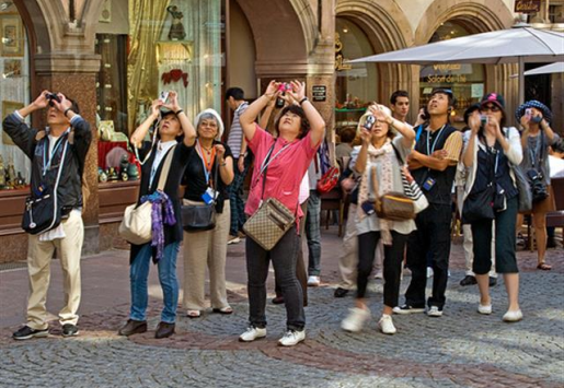JAPANESE TOURISM HOPES TO ATTRACT MORE EUROPEANS