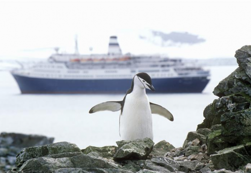 TOURISM IN ANTARCTICA SLOWLY GROWING