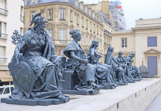 MUSEUMS IN PARIS WELCOMED FEWER VISITORS
