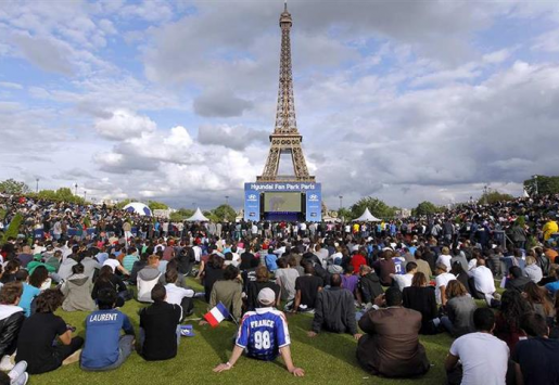 TOURISM IN PARIS EXPECTED MORE FROM EURO 2016