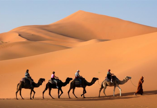 MOROCCO TOURISM BOOSTED BY CHINESE AND RUSSIAN ARRIVALS