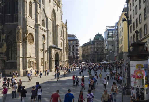 OVERNIGHTS STAYS AND ARRIVALS RISING IN VIENNA