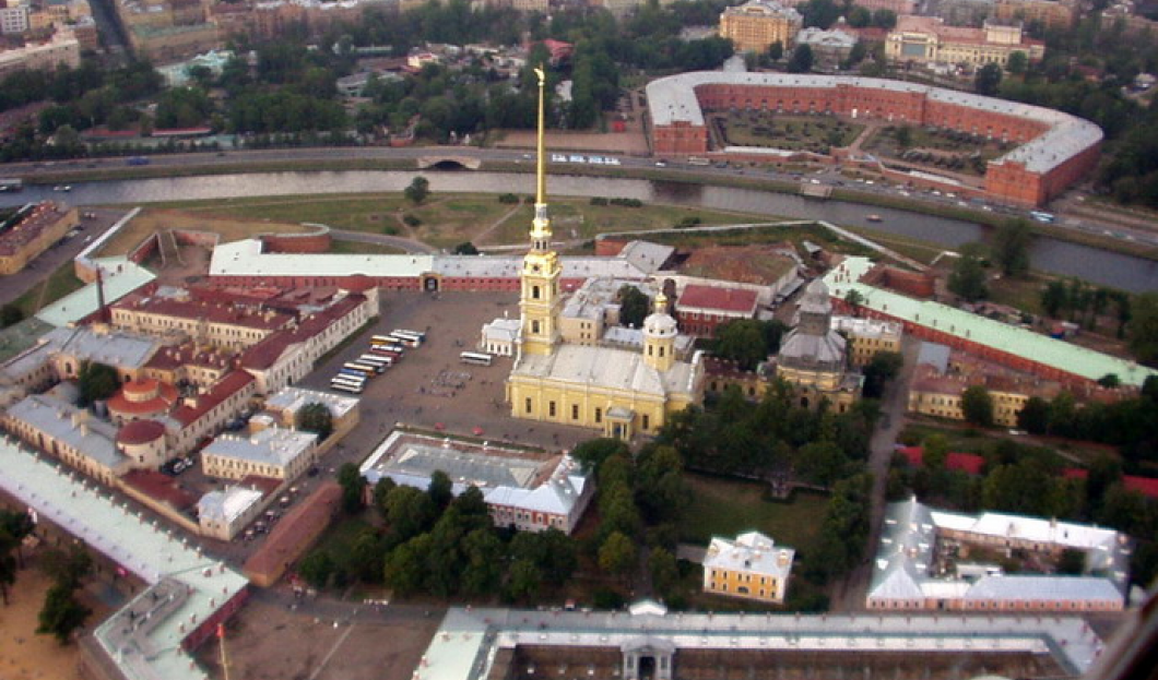 3/ Peter and Paul Fortress