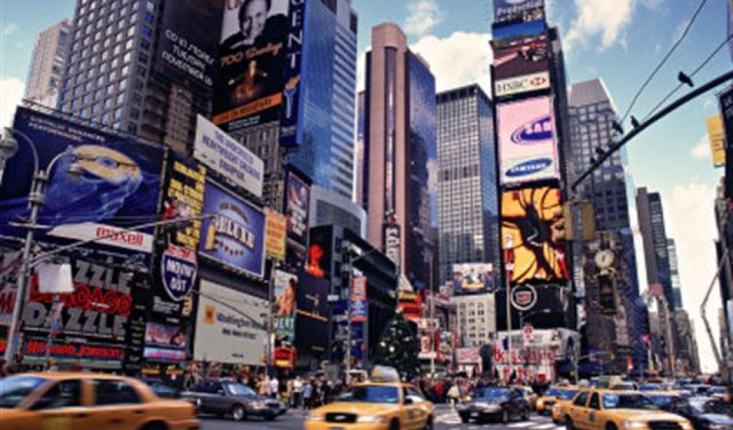 The Times Square, New York