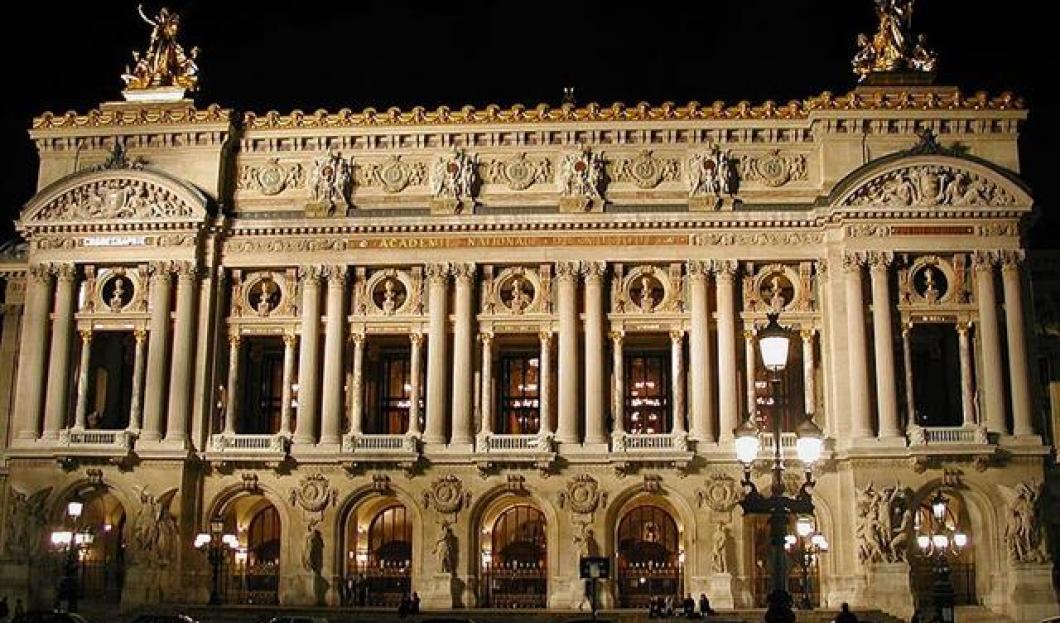 7) Paris Opéra, Paris, France