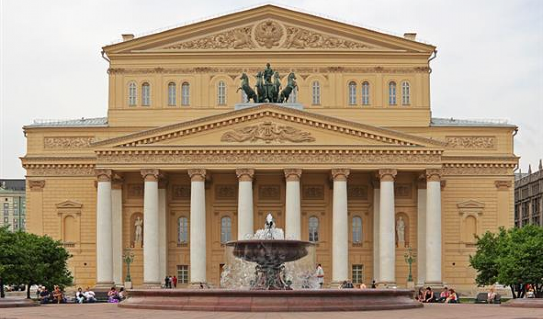 5) The Bolshoi Theatre, Moscow, Russia