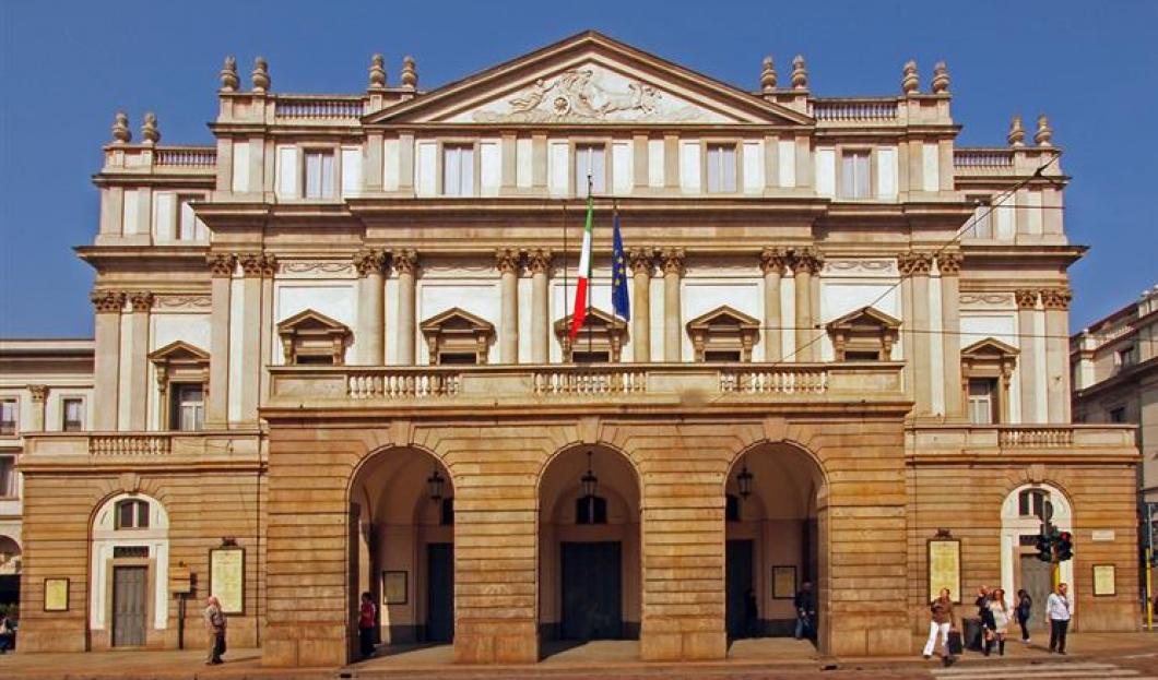 1) La Scala, Milan, Italy