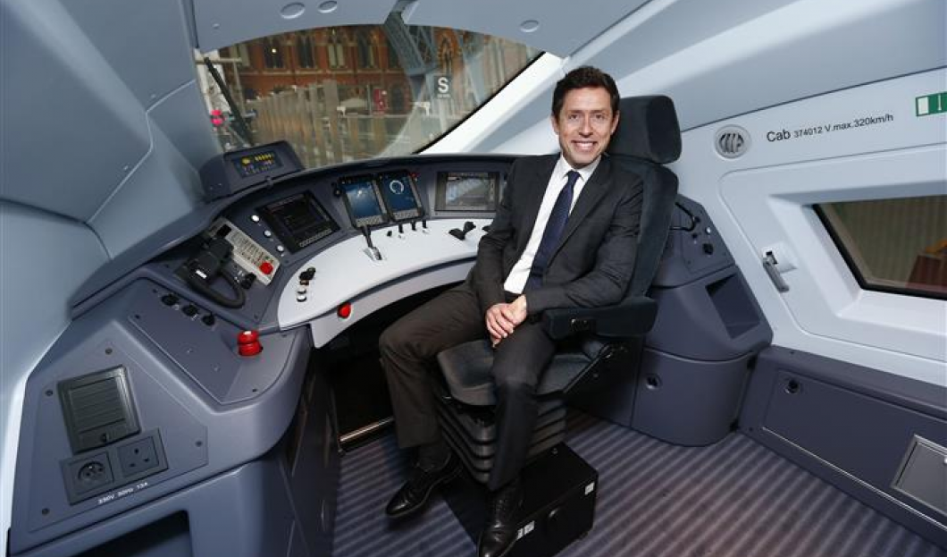The Eurostar Provides the UK with High-speed