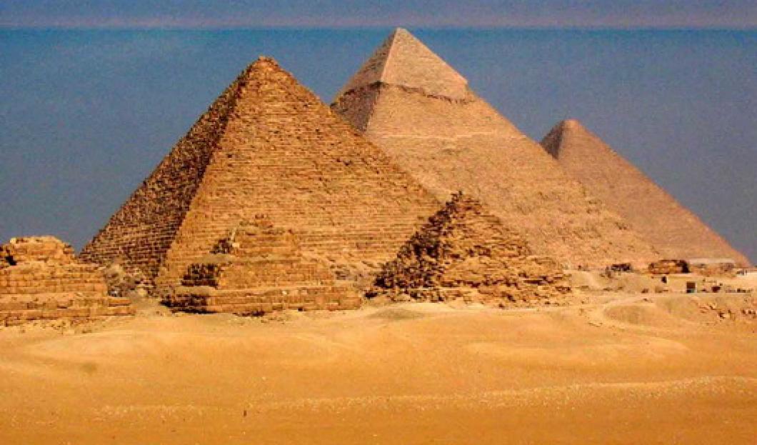 10. The Pyramids of Giza