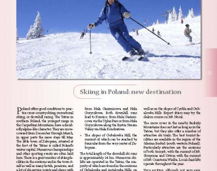 Skiing in Poland: new destination