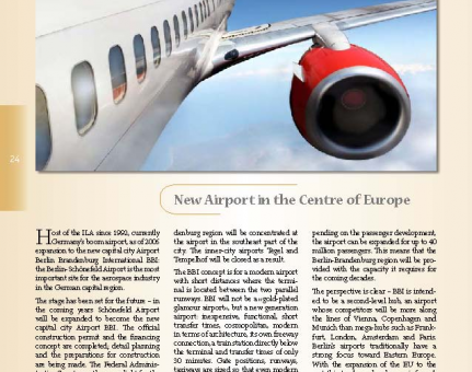 New Airport in the Centre of Europe