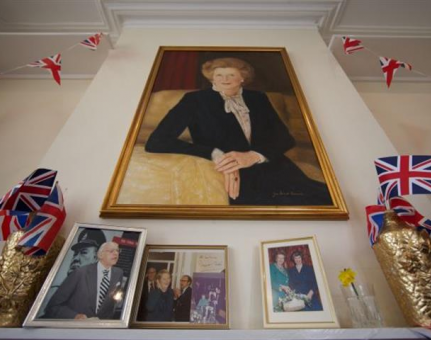 The Iron Lady Walk: The Life of Margaret Thatcher