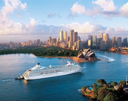 Cruising: Australia Reports the Biggest Market Growth