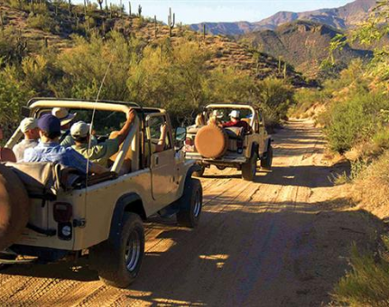 Corporate Team Building with Jeep Tours