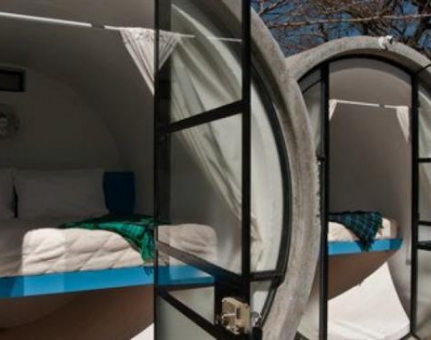 Tubohotel: Staying in Unique and Luxurious Concrete Tubes
