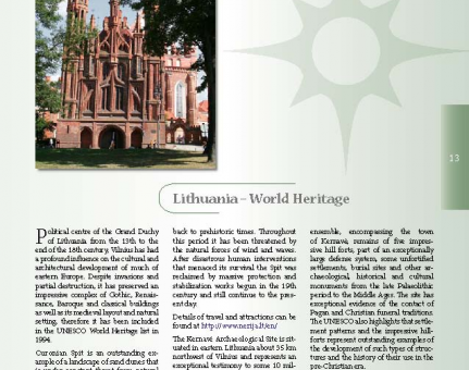 Lithuania – World Heritage
