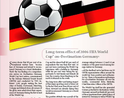 Long-term effect of 2006 FIFA World Cup™ on