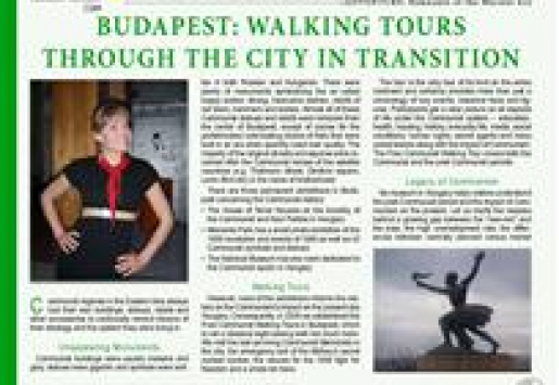 Budapest: Walking Tours through the City in Transition