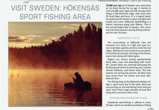 Visit Sweden: Hökensås Sport Fishing Area