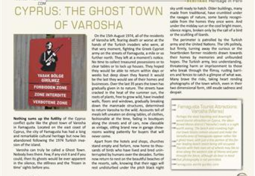 Cyprus: The Ghost Town of Varosha