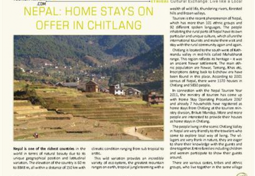 Nepal: Home Stays on Offer in Chitlang
