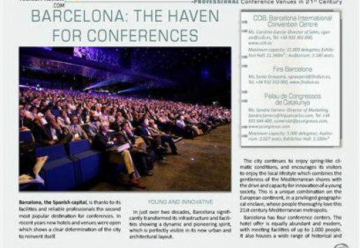 Barcelona: The Haven for Conferences