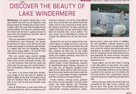 Discover the Beauty of Lake Windermere
