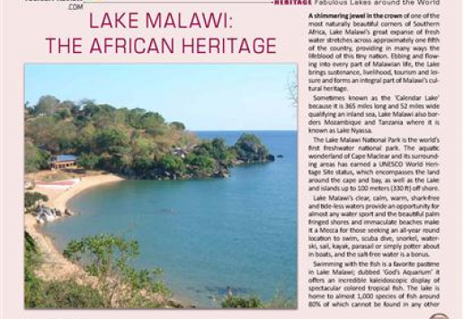 Lake Malawi: The African Heritage