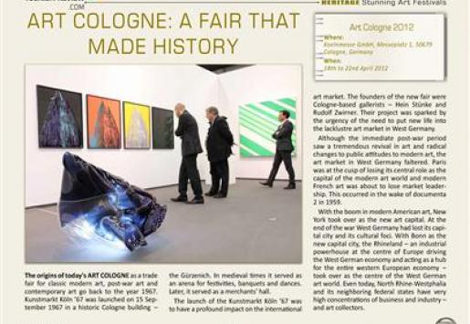 Art Cologne: A Fair That Made History