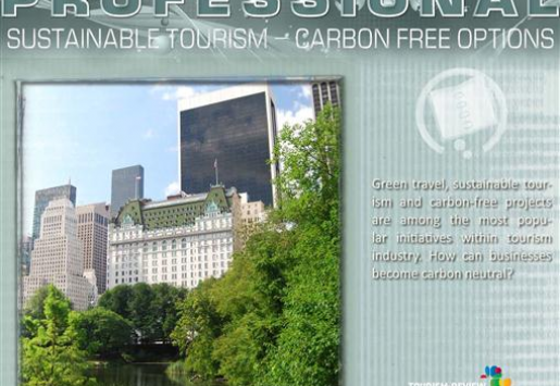 PROFESSIONAL/ Sustainable Tourism – Carbon Free Options