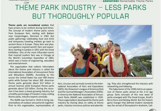 Amusement Park Industry Information