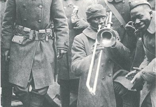 Spirit of Jazz Age Paris and the Harlem Hellfighters, Heroes of WWI