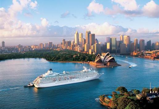 Cruising: Australia Reports the Biggest Market Growth