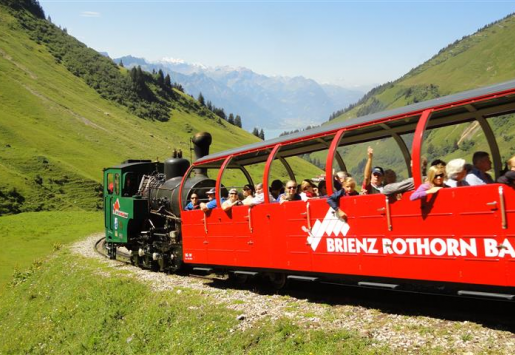 Swiss Heritage Railway Takes Passengers to the Summit