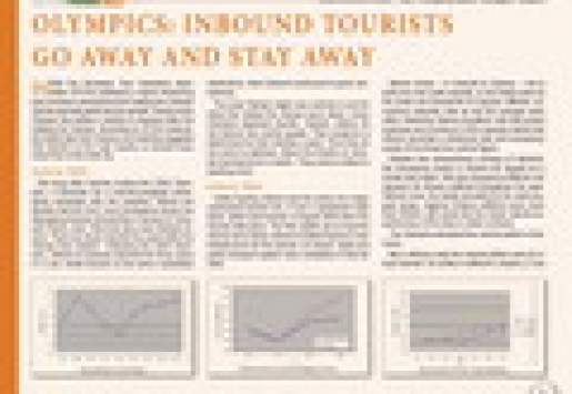 Olympics: Inbound Tourists Go Away and Stay Away