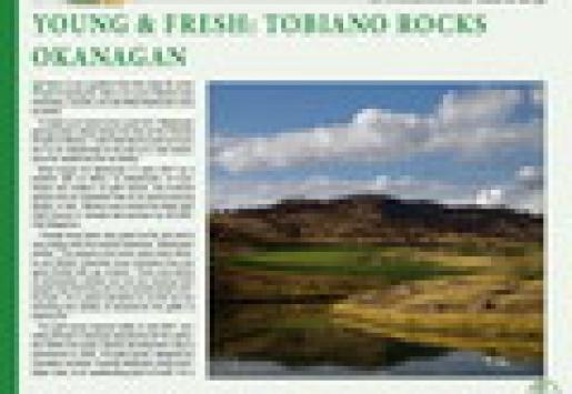 Young and Fresh: Tobiano Rocks Okanagan